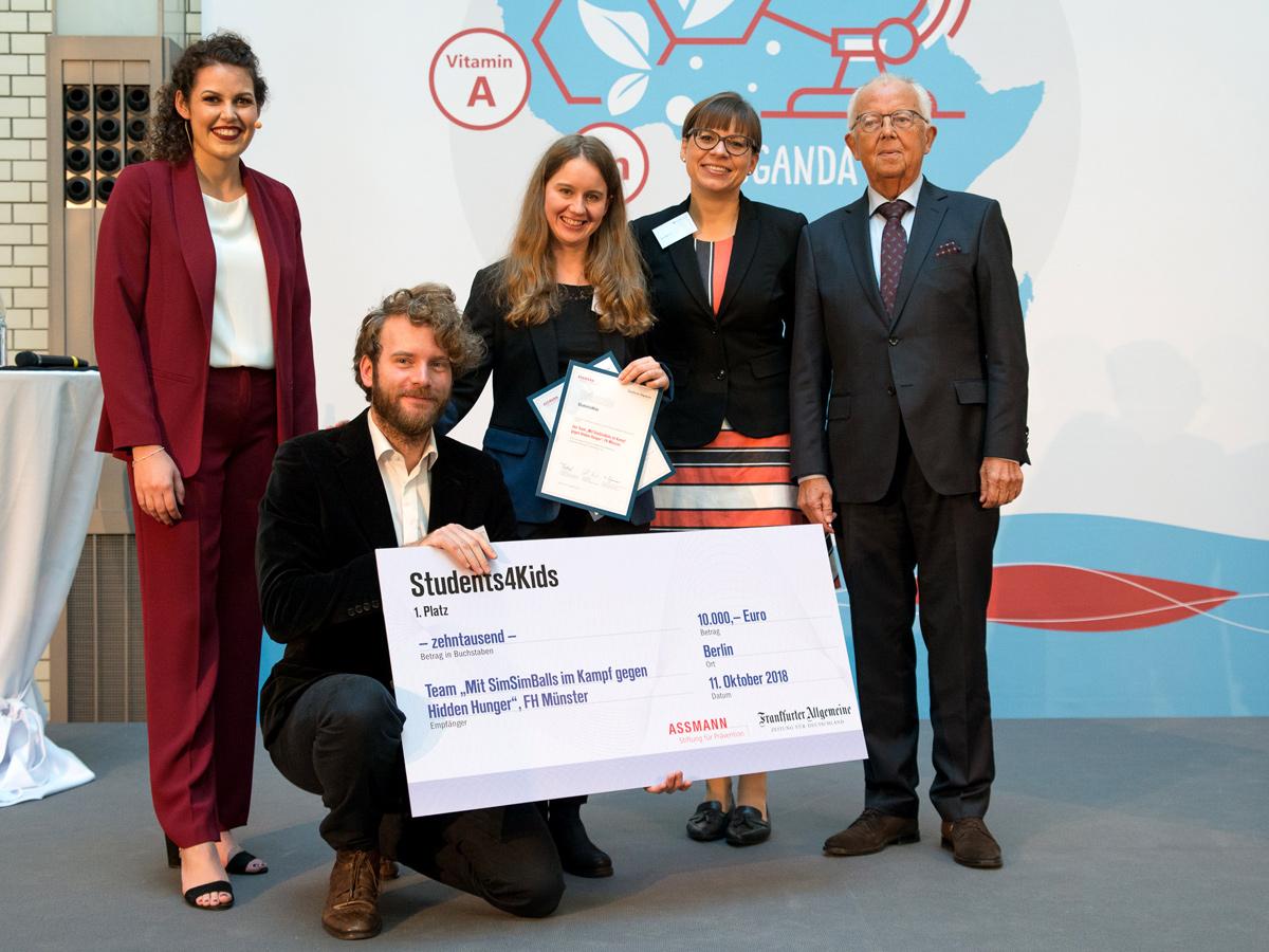 Students4Kids Summit 2018 Winning project